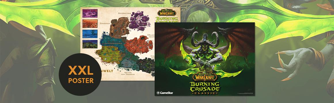 Sonderheft-WoW-Classic-The-Burning-Crusade-Gamestar-Shop-Banner-Poster-Hell-1160x360